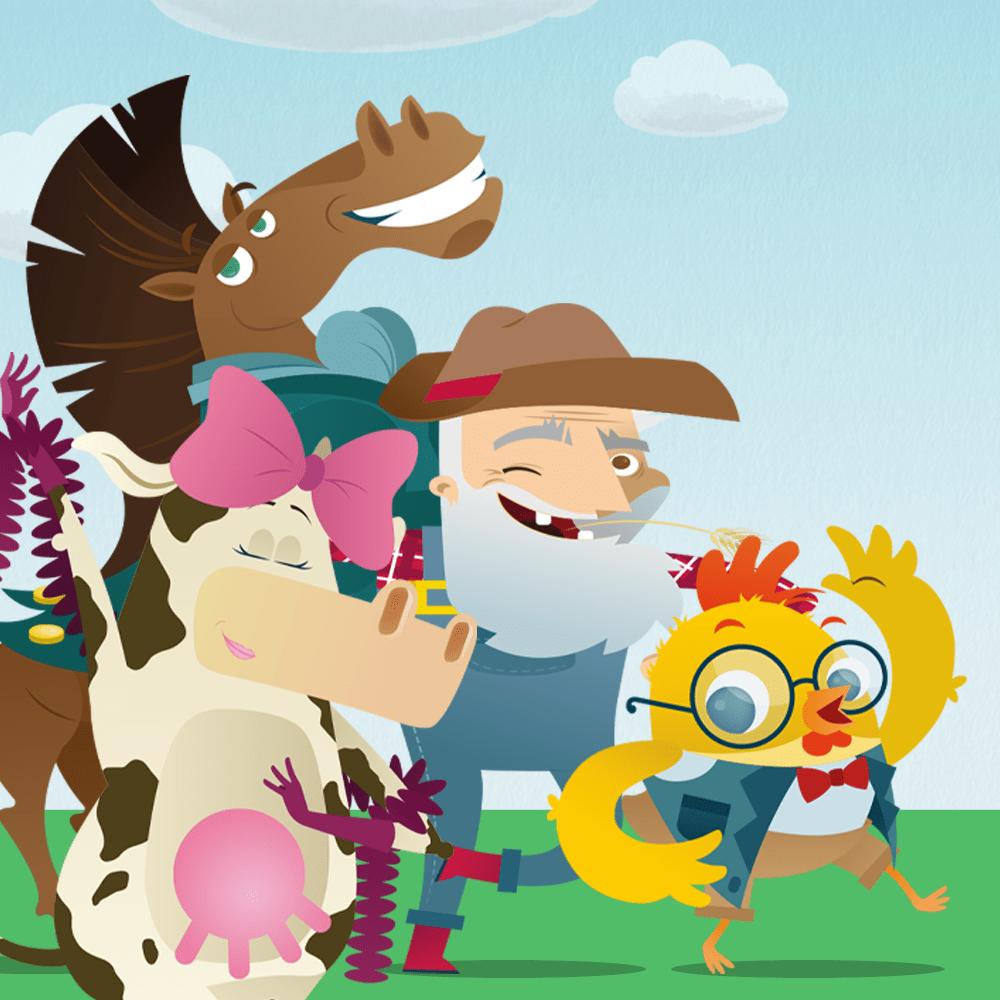 Serie Kroki el pollito y sus divertidos descubrimientos, disponible en Sybel