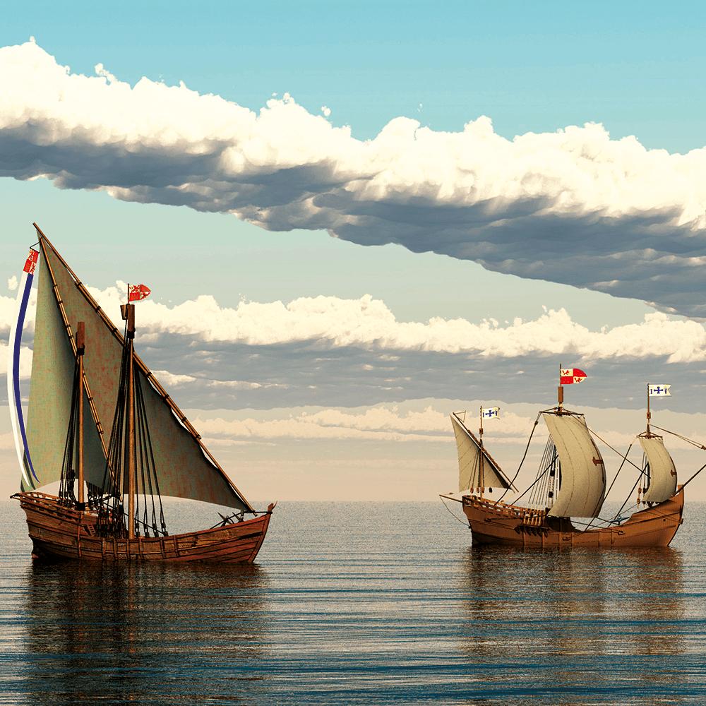 Cover de la serie Christophe Colomb disponible sur Sybel