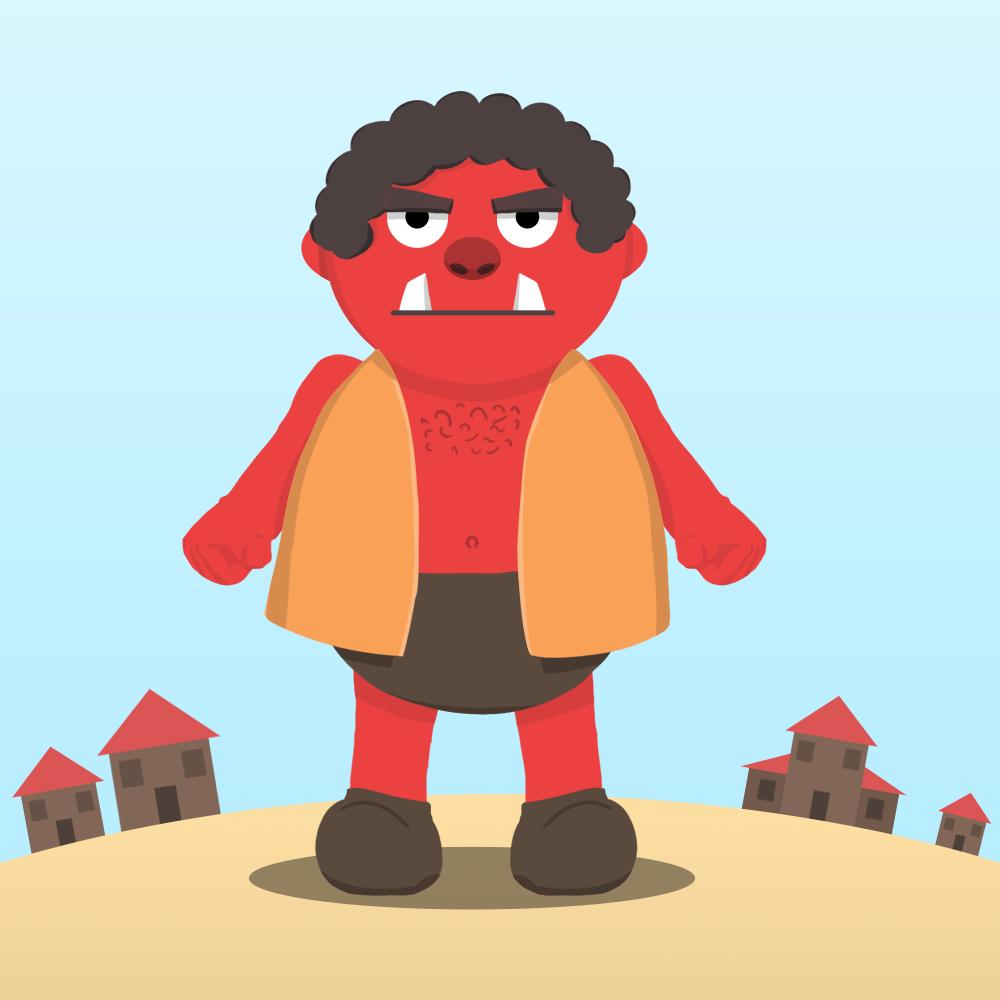 Serie El ogro rojo, disponible en Sybel