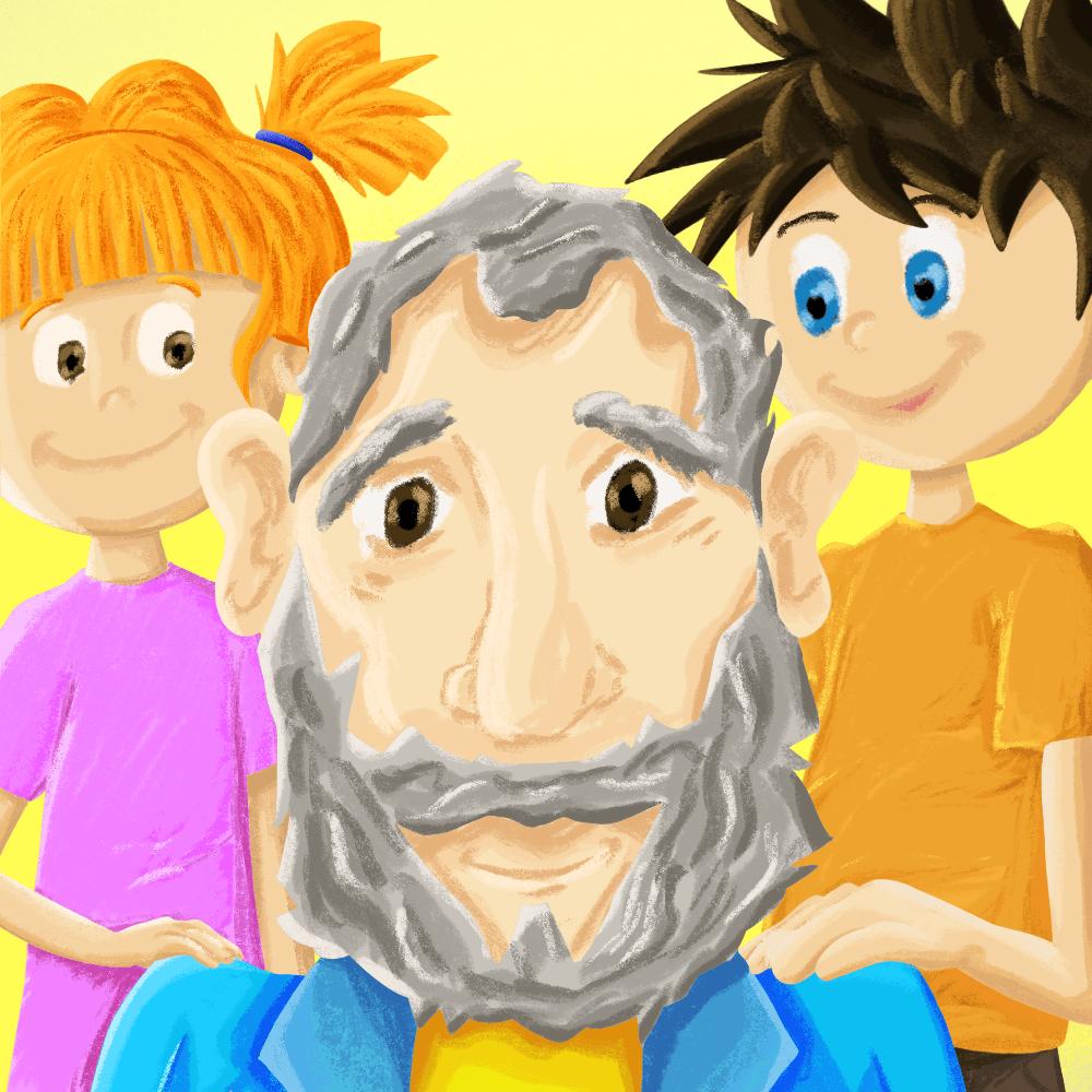 Serie El viejo y sus hijos, disponible en Sybel