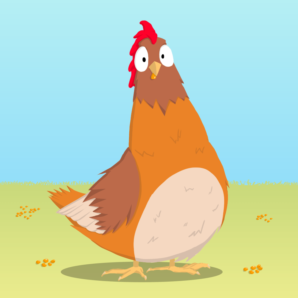 La gallinita roja cover