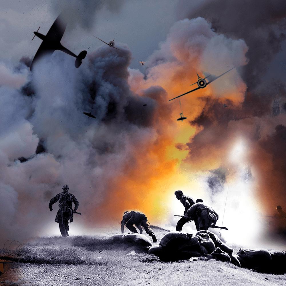 Cover de la serie La bataille de Normandie disponible sur Sybel