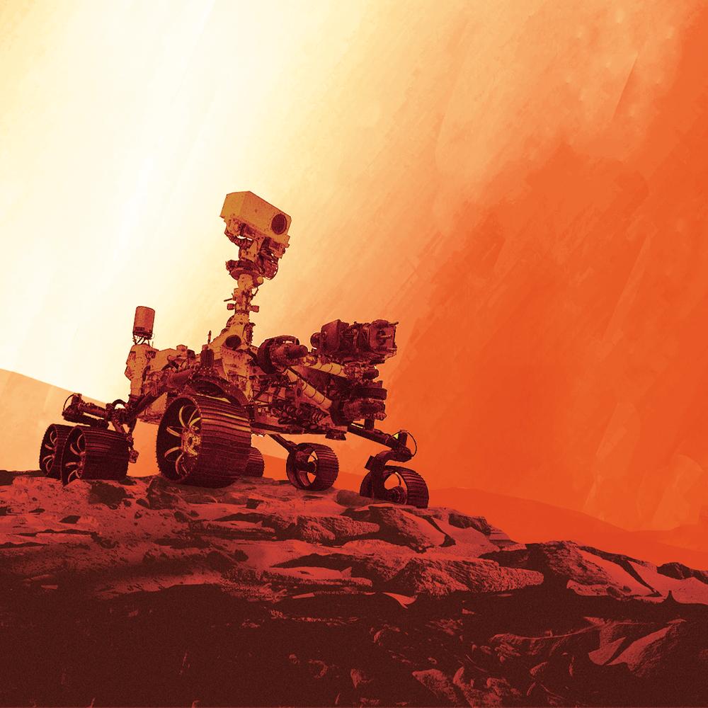 Cover de la serie Le premier son de Mars disponible sur Sybel