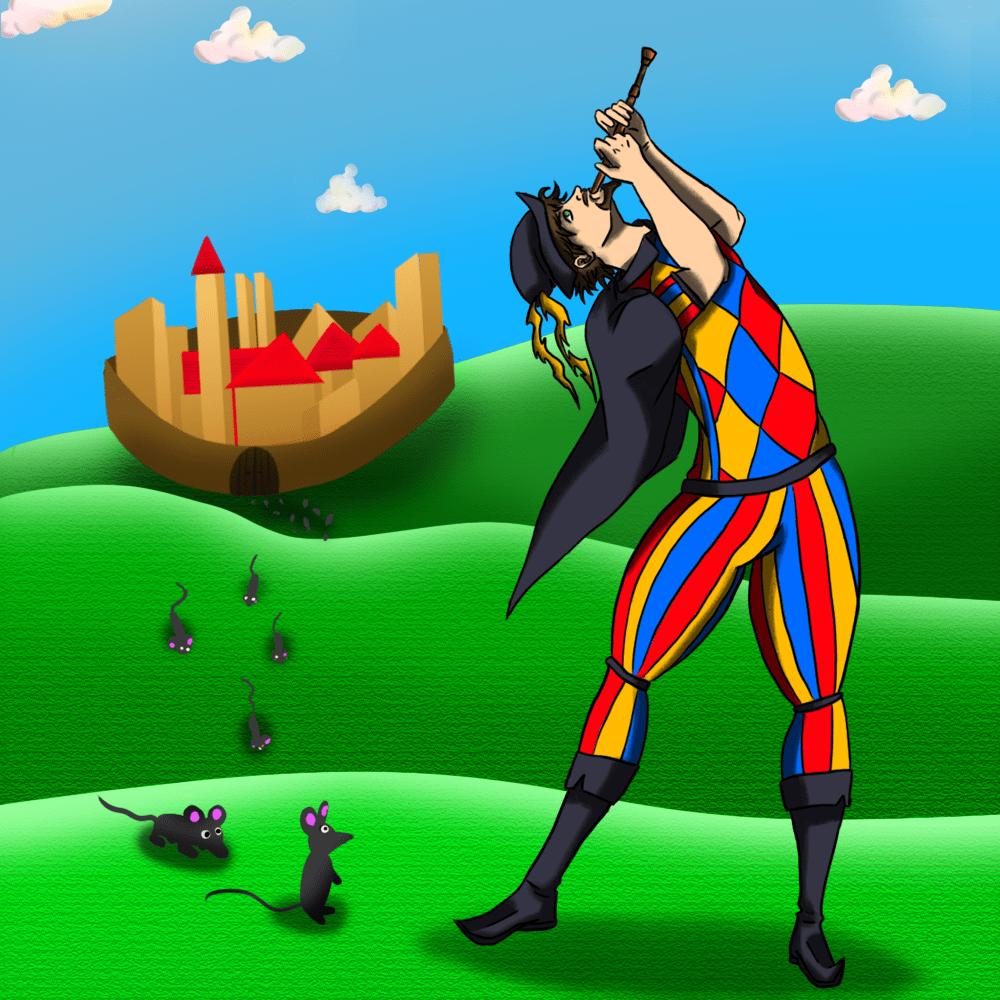 Cover de la serie Le joueur de flûte disponible sur Sybel