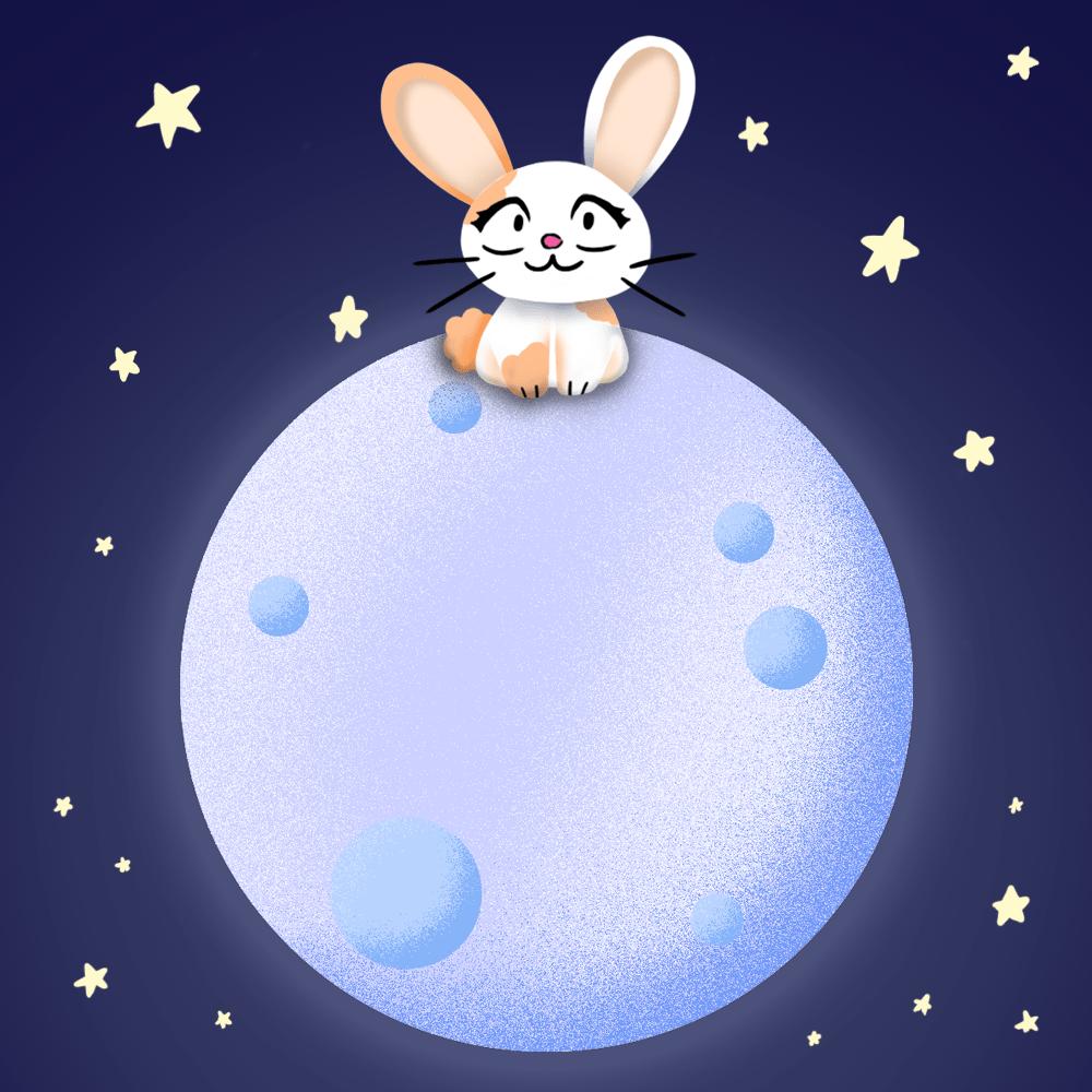 Serie El conejo en la luna, disponible en Sybel