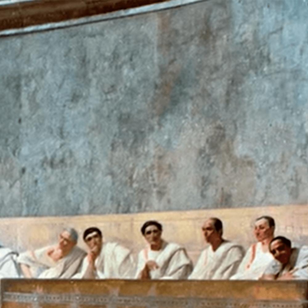 Serie La corrupción en la antigua Roma, disponible en Sybel