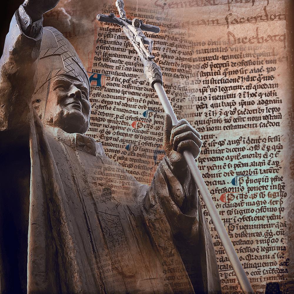 Cover de la serie La prophétie des papes disponible sur Sybel