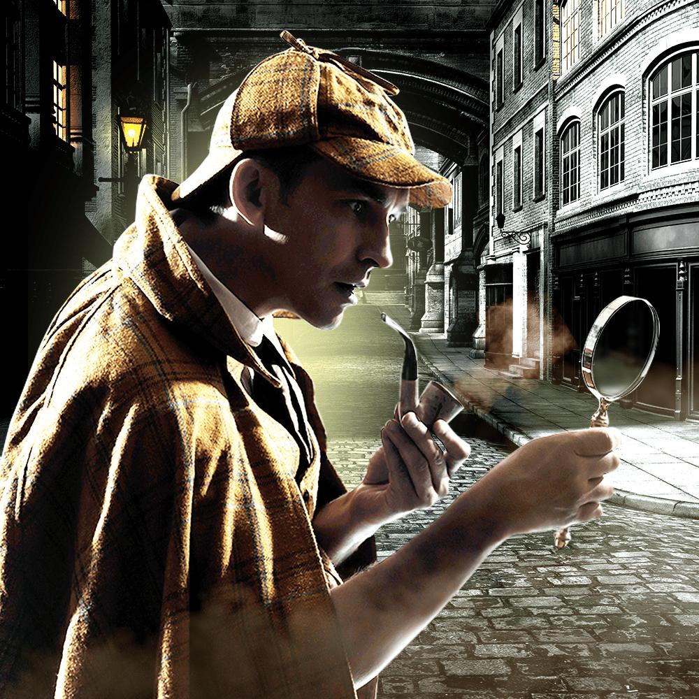 Cover de la serie 6 enquêtes de Sherlock Holmes & du Dr Watson disponible sur Sybel