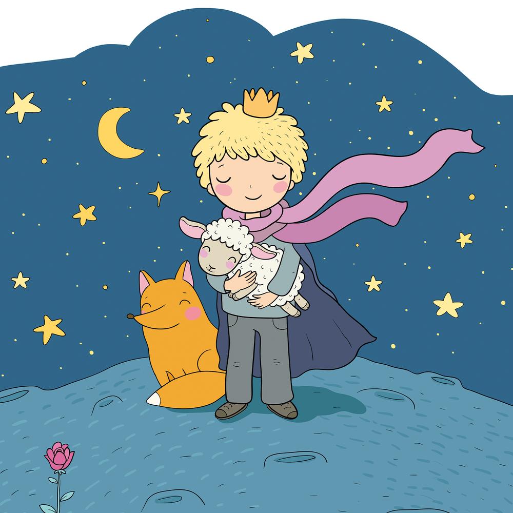 Cover de la serie Le petit prince disponible sur Sybel