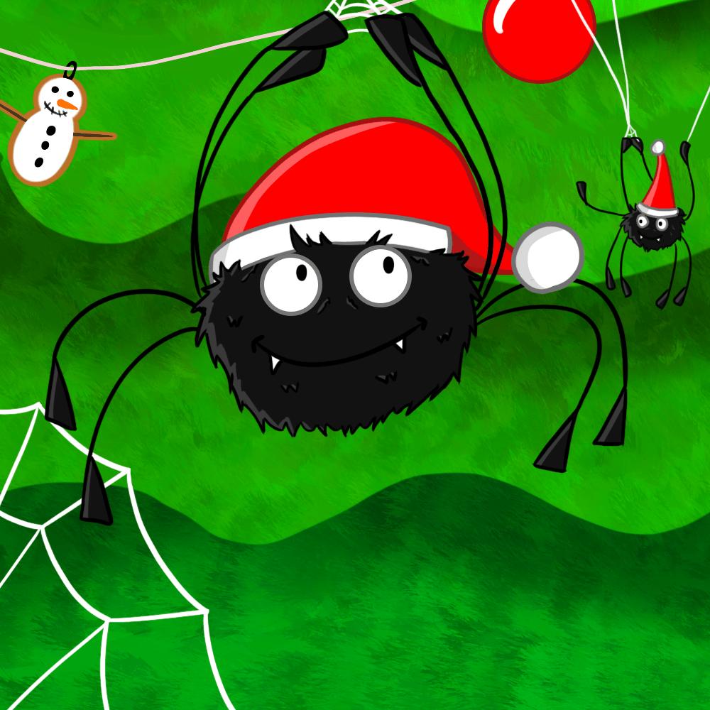 Serie Las arañas de Navidad, disponible en Sybel