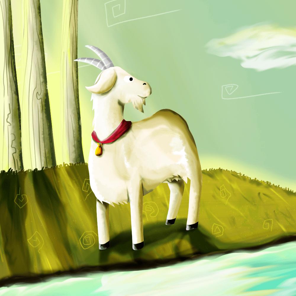 Cover de la serie La chèvre de Monsieur Seguin raconté par Fernandel disponible sur Sybel