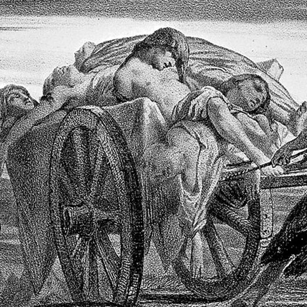 Serie La peste negra, disponible en Sybel