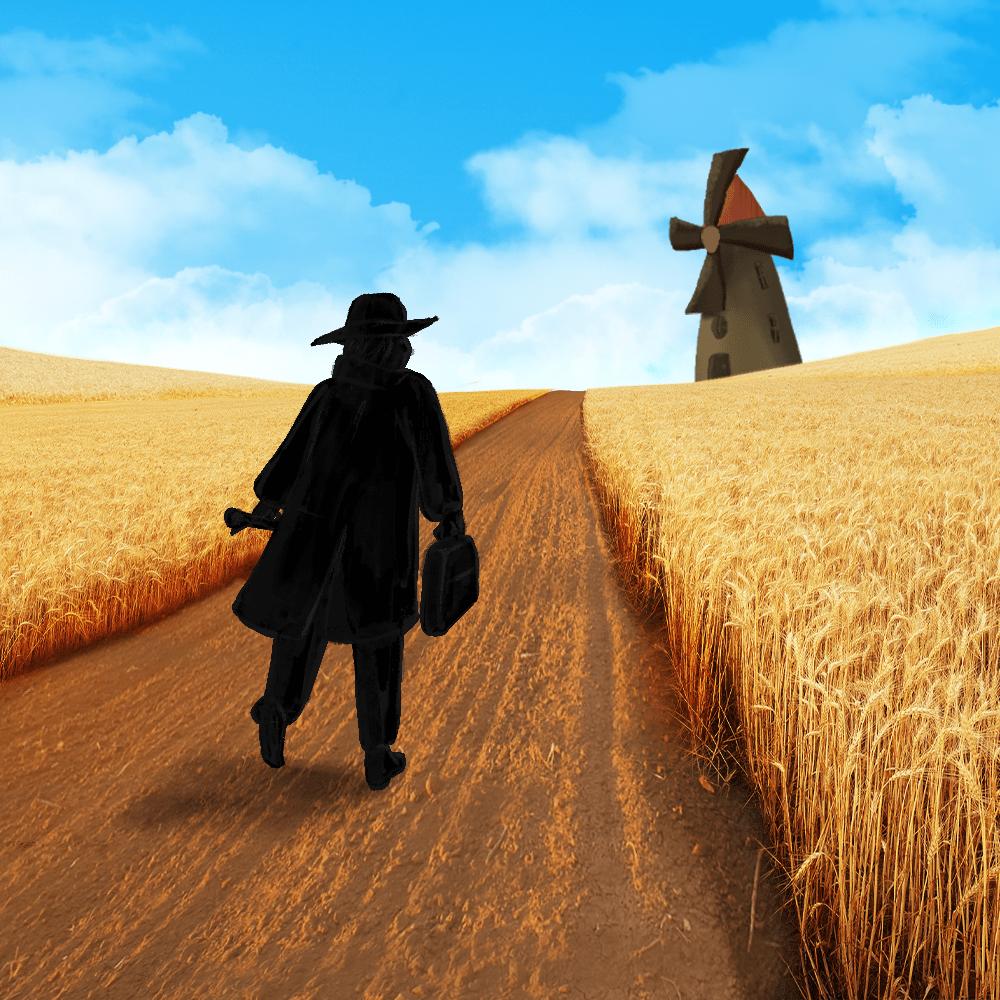 Cover de la serie Les lettres de mon moulin raconté par Fernandel disponible sur Sybel