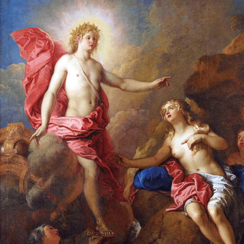 Cover de la serie Apollon, le dieu poète disponible sur Sybel