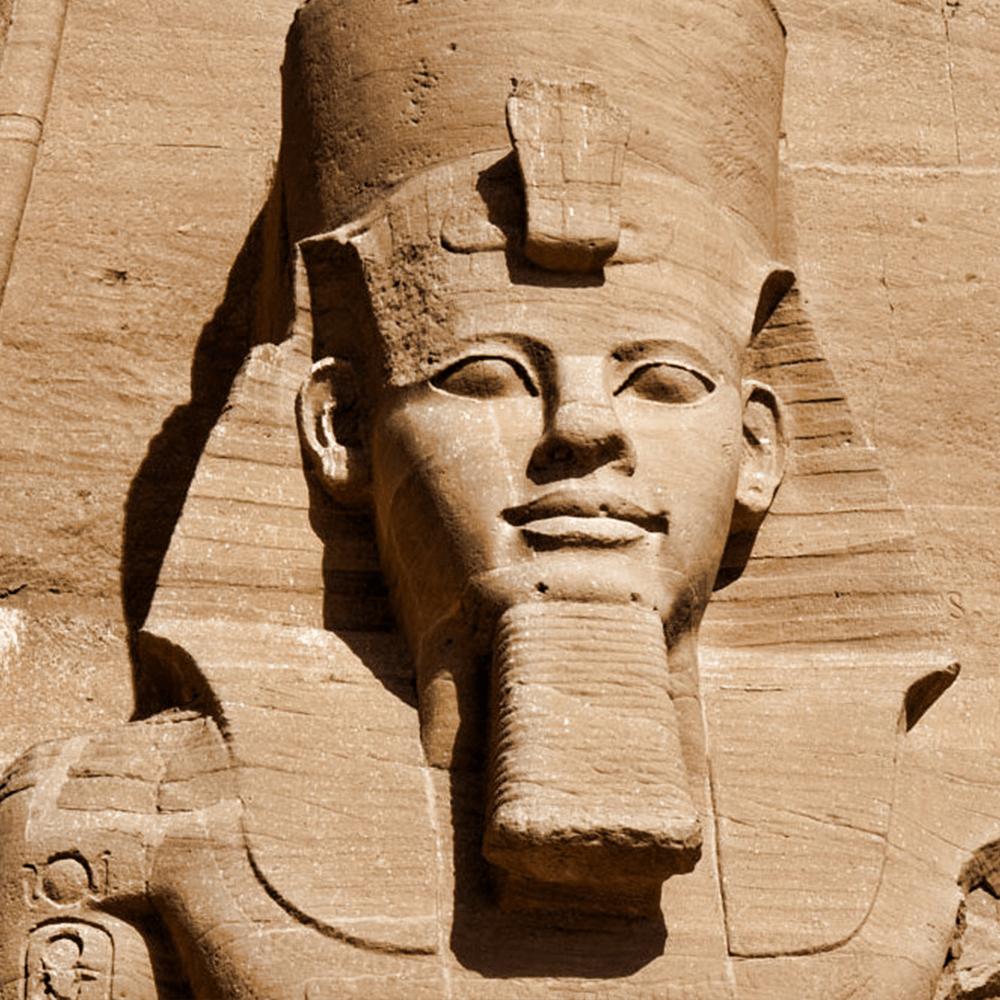 Cover de la serie Ramsès II, la Pharaon Bâtisseur disponible sur Sybel