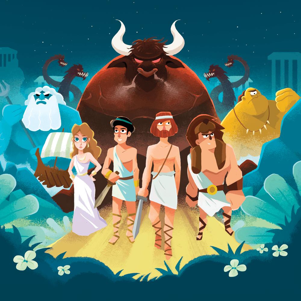 "Mythes et légendes : ""Les Héros Grecs"" cover"