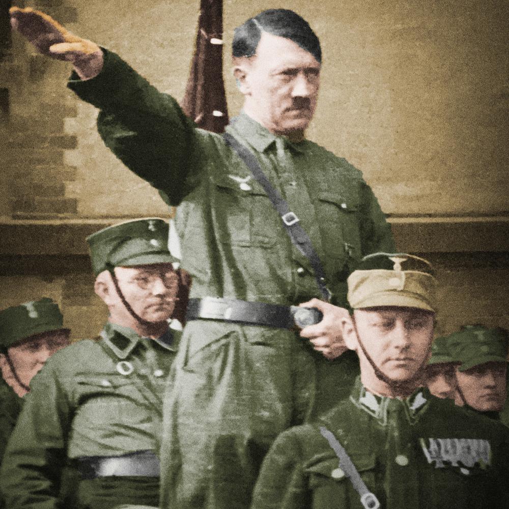 Cover de la serie Adolf Hitler, l'itinéraire disponible sur Sybel