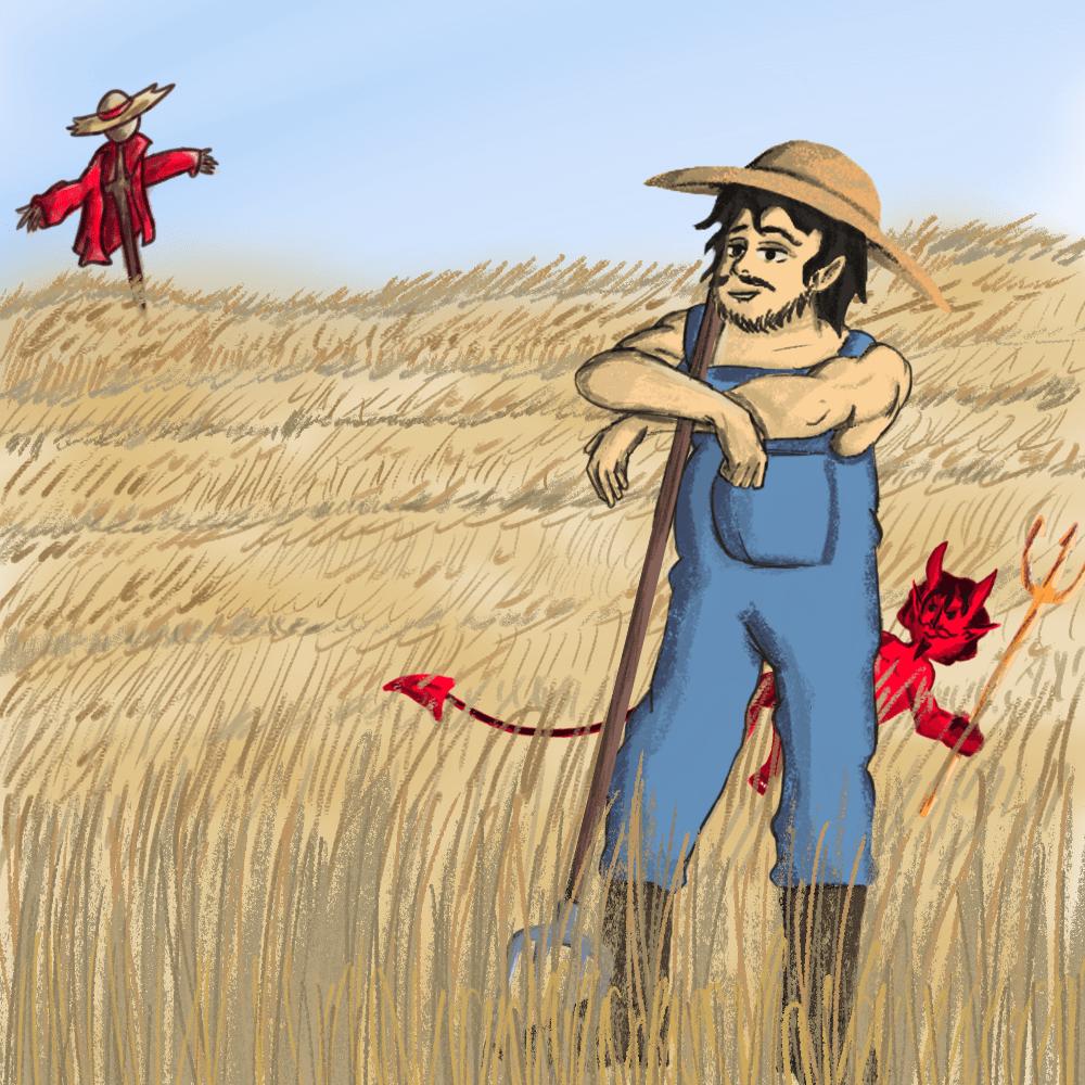 Serie El campesino y el diablo, disponible en Sybel