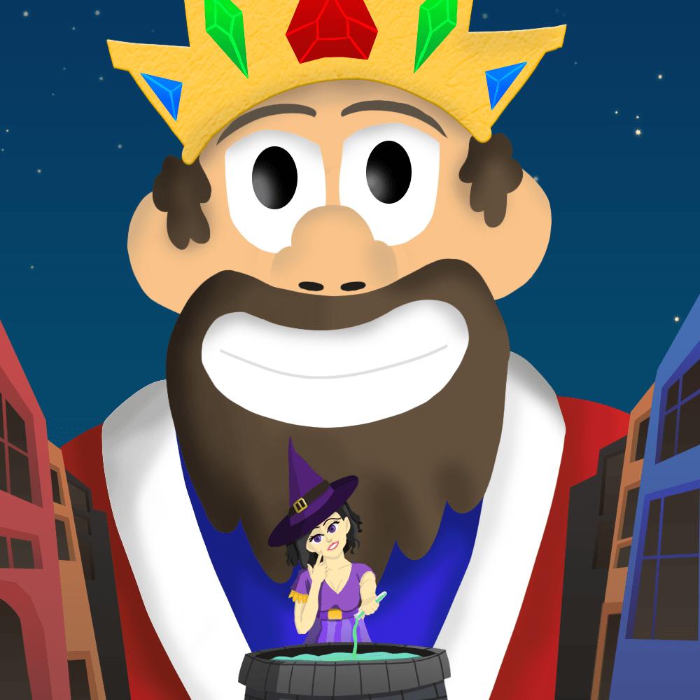 Serie El rey sabio, disponible en Sybel