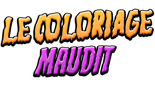 Le coloriage maudit