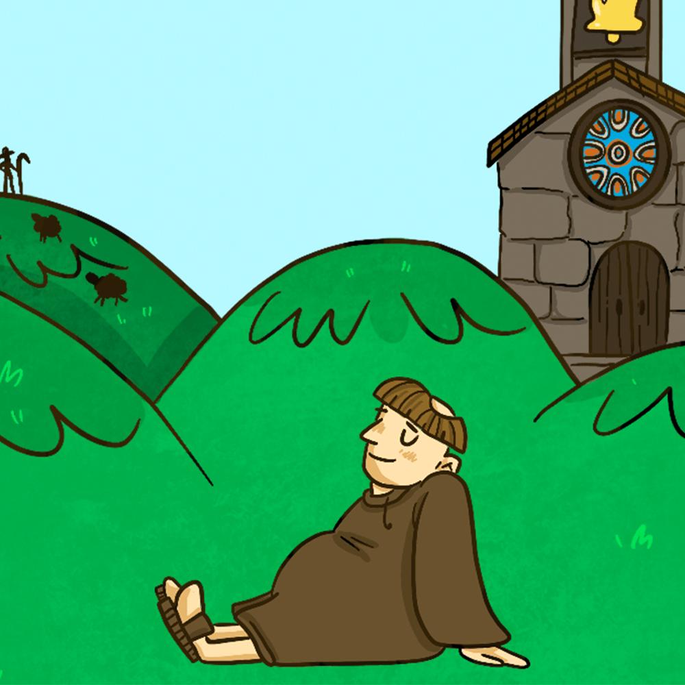 Serie El abad y los 3 enigmas, disponible en Sybel