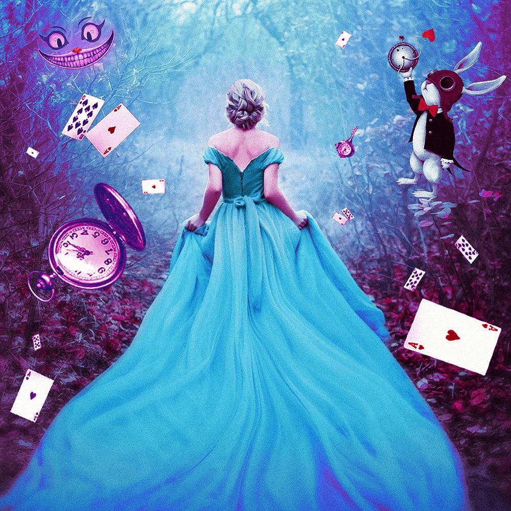 Cover de la serie Alice au pays des merveilles disponible sur Sybel