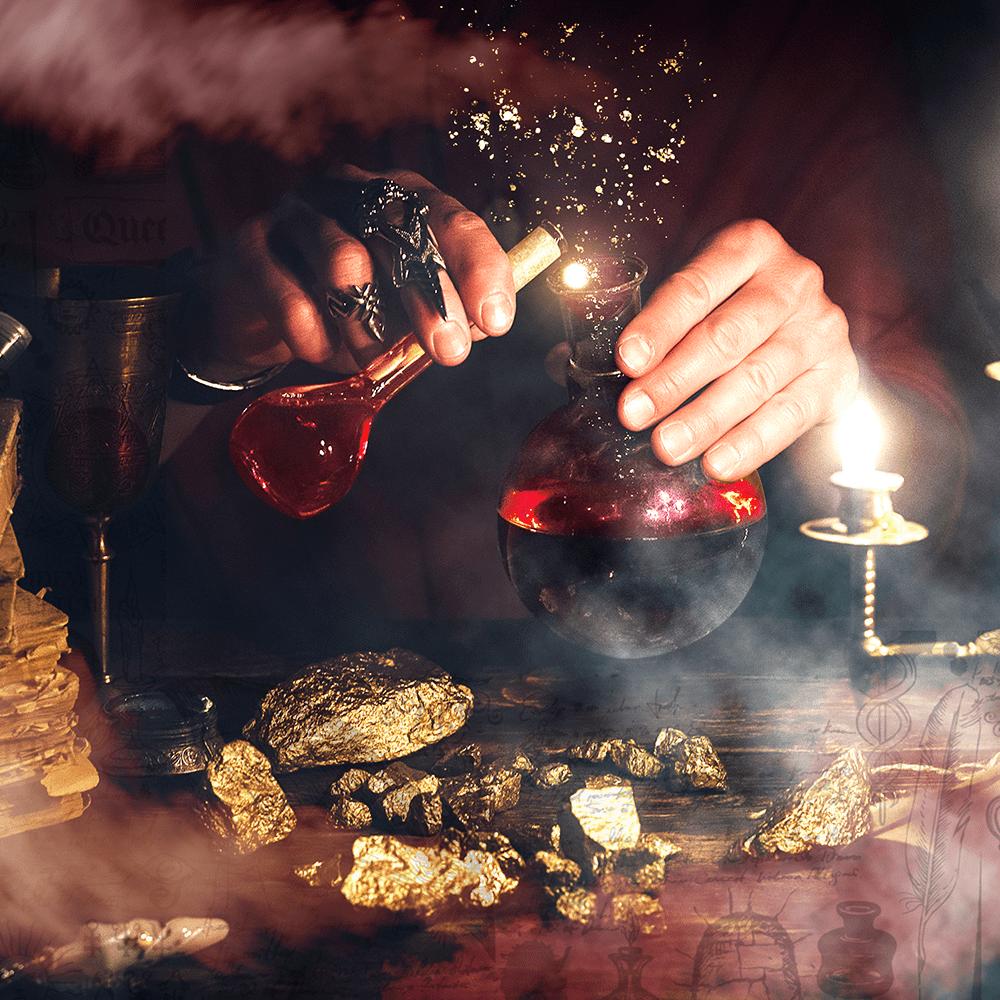 Cover de la serie Les alchimistes disponible sur Sybel