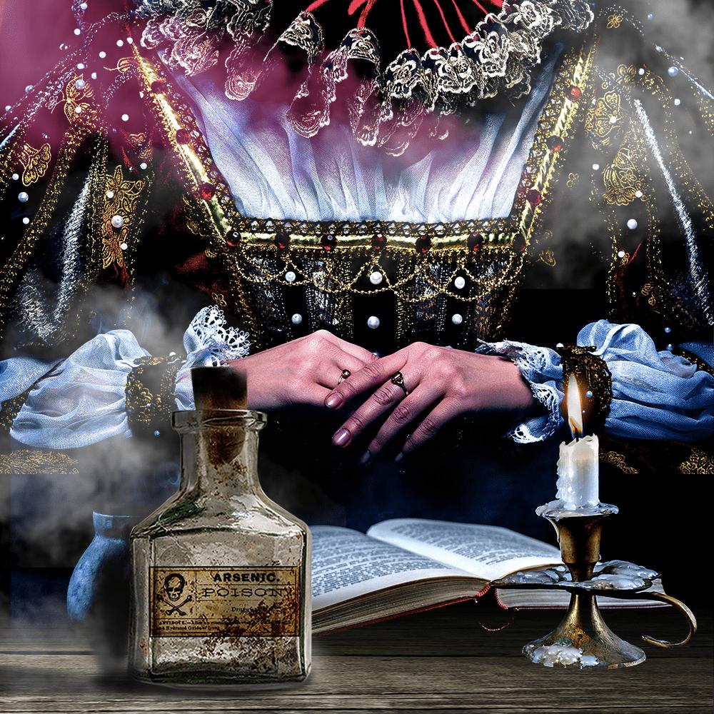 Cover de la serie Louis XIV et l'affaire des poisons disponible sur Sybel