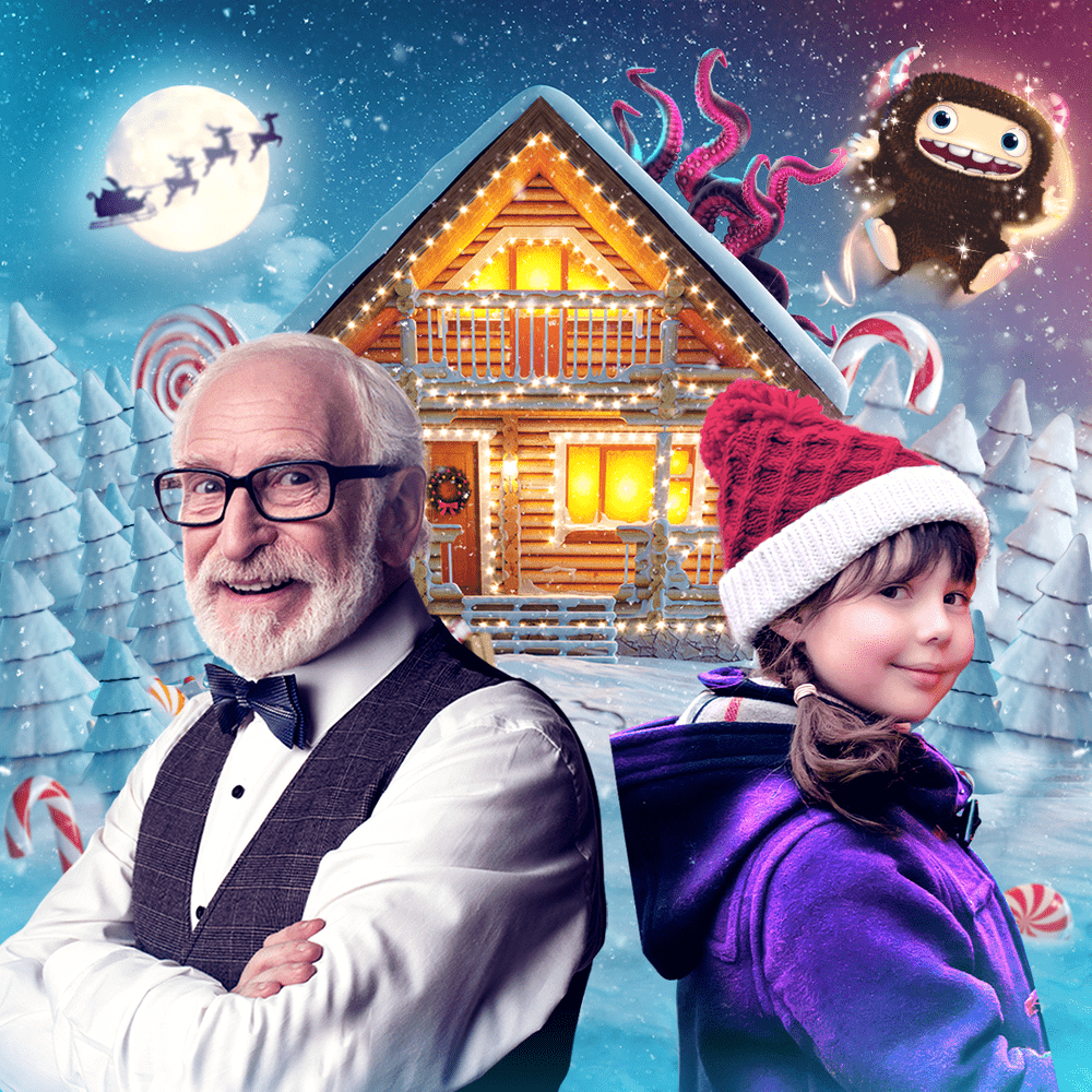 Cover de la serie L'aventure de Noël disponible sur Sybel