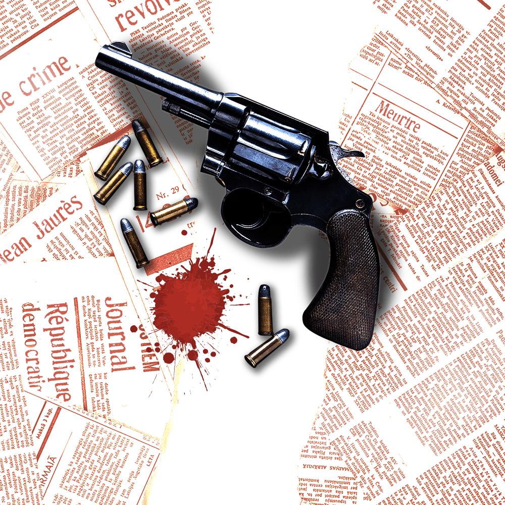 Cover de la serie L'assassinat de Jean Jaurès disponible sur Sybel