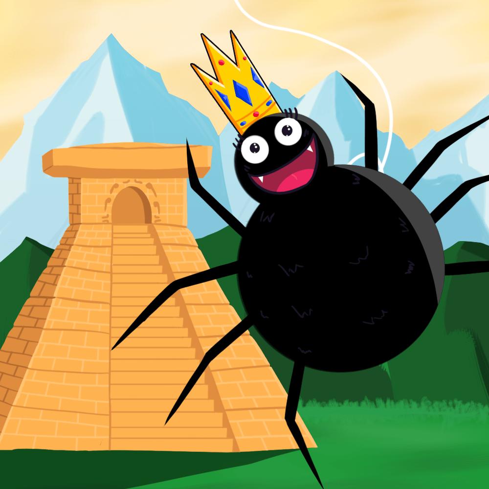Serie La leyenda de la araña, disponible en Sybel