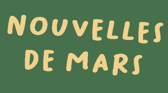 Nouvelles de Mars title
