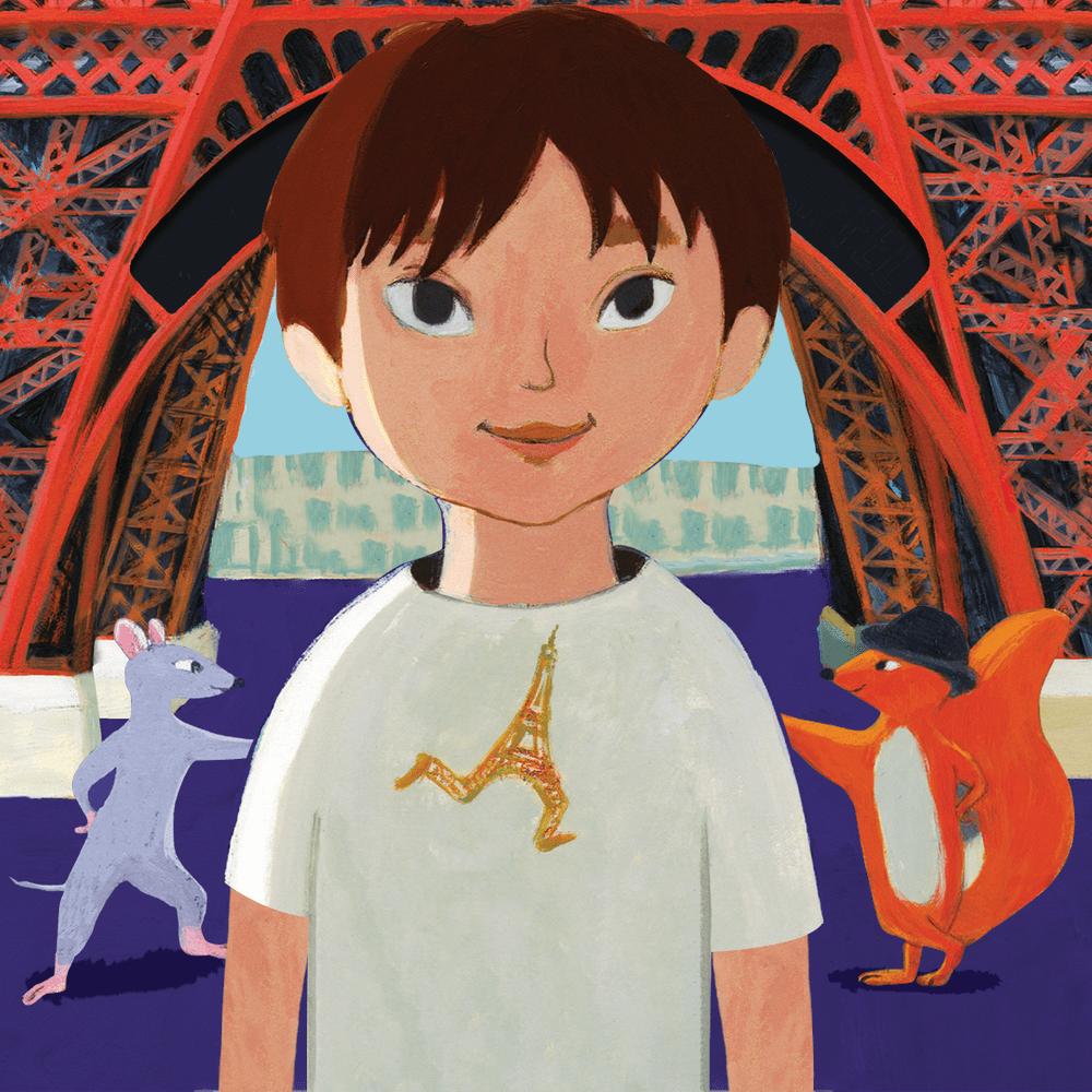 Cover de la serie Duncan et la petite tour Eiffel disponible sur Sybel