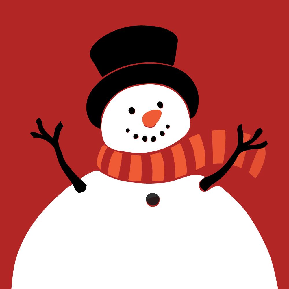 Serie Un muñeco de nieve, disponible en Sybel
