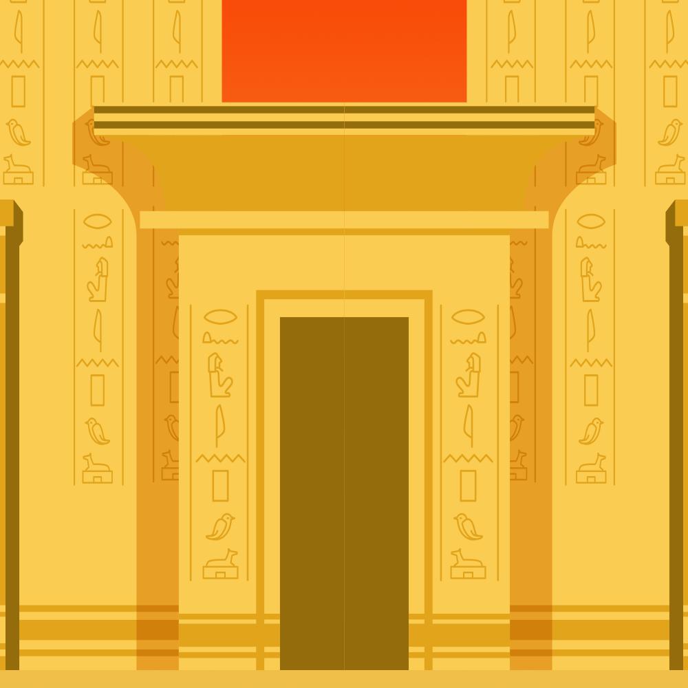 Cover de la serie Le chat en Egypte antique disponible sur Sybel