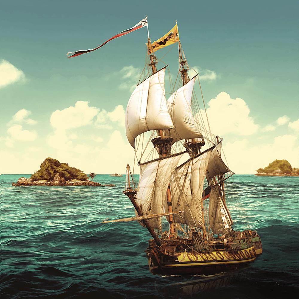 Cover de la serie Les révoltés du Bounty disponible sur Sybel