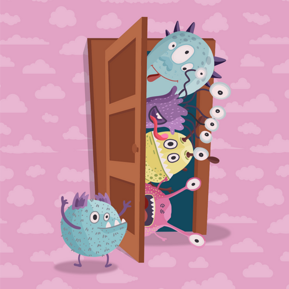 Cover de la serie Drôles de monstres disponible sur Sybel