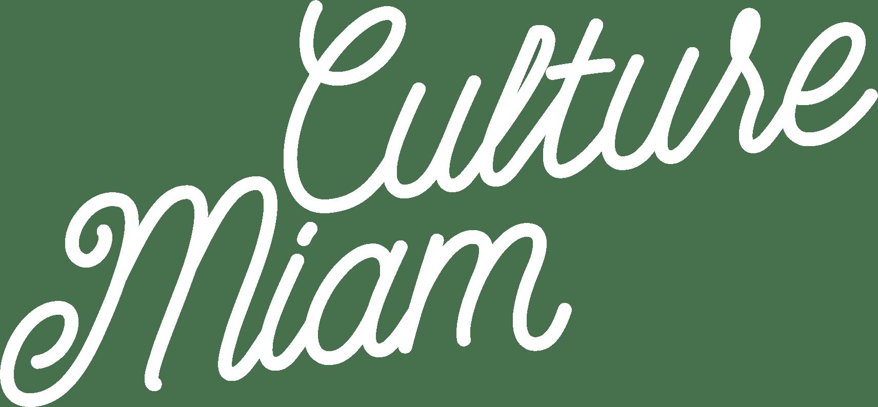 Culture Miam title