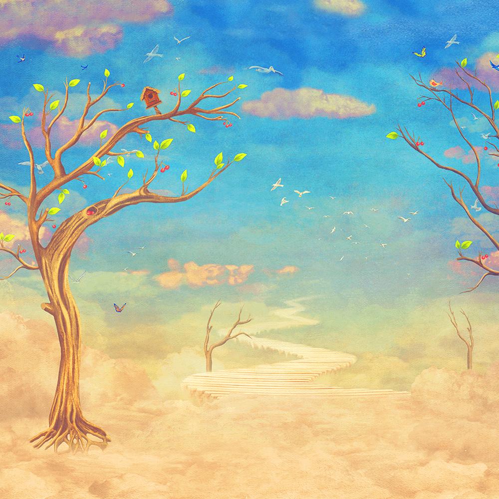 Cover de la serie L'arbre derrière le mur disponible sur Sybel