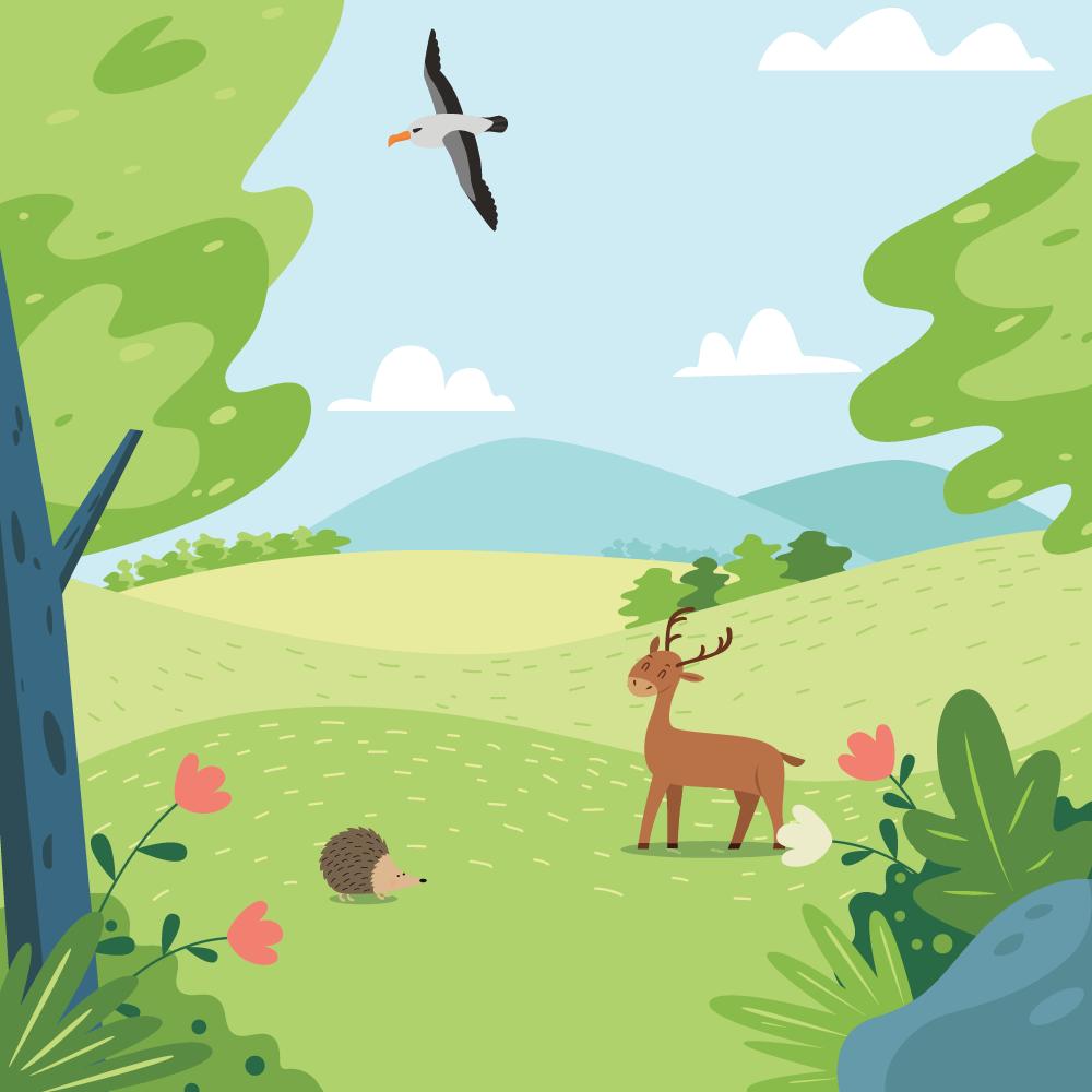 Cover de la serie Nos amis les animaux disponible sur Sybel